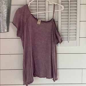 We The Free off-the-shoulder, slouchy tee